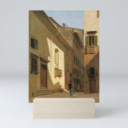 Santa Maria De Bardi 1870 By Telemaco Signorini | Reproduction | Italian Painter Mini Art Print