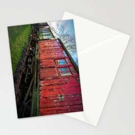 Old Train Wagon Stationery Cards