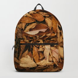 Autumn Golden Leafs (Color) Backpack
