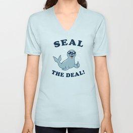 Seal The Deal Unisex V-Neck