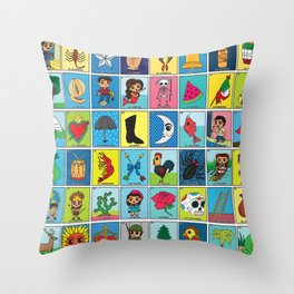 LOTERIA! Throw Pillow