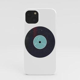 Vinyl Record Zodiac Sign Pisces iPhone Case