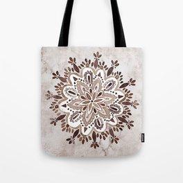 Rustic Mandala Tote Bag