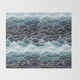 Mountains Throw Blanket