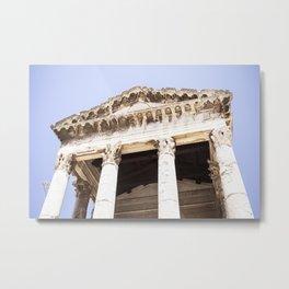 Augustus Temple Metal Print