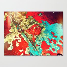 Old Town Floor Canvas Print