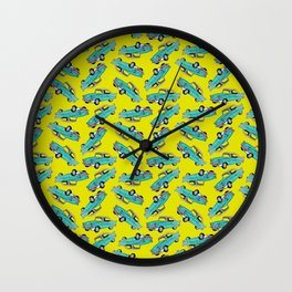 Bel Air Pattern Wall Clock