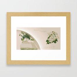 Stuttgart / Europa Framed Art Print