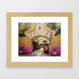 Tequila Tasting Framed Art Print