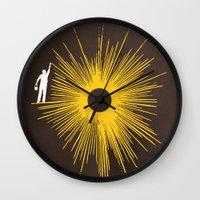 Beaming Wall Clock
