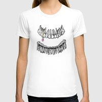 tooth T-shirts featuring Sweet Tooth by Corinne Elyse