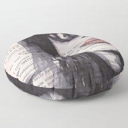 Irene [stolen portrait] Floor Pillow