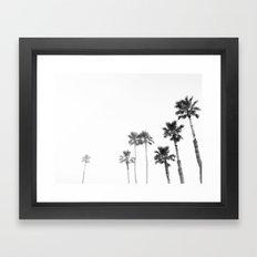Tranquillity - bw Framed Art Print