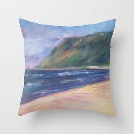 Otter Creek, Sleeping Bear Dunes Throw Pillow