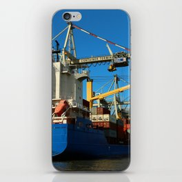 Container Ship iPhone Skin