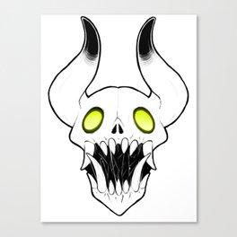 Scol (Skull) Canvas Print