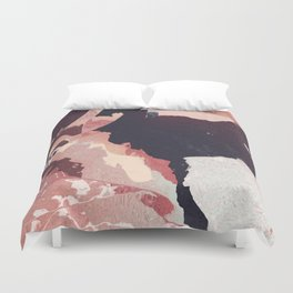 That blush is cracked Duvet Cover