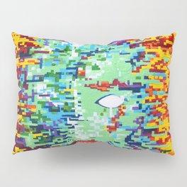 Depressive Doppler Deluge Pillow Sham