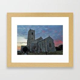 St Mary's Church Happisburgh Framed Art Print