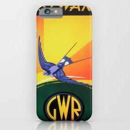 retro iconic Westward iPhone Case