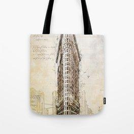 Flat Iron Building, New York, USA Tote Bag