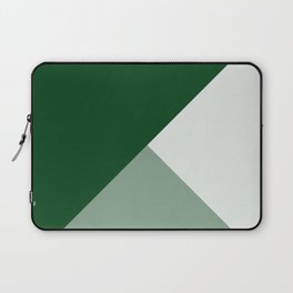 Trinity Color Block Forest Green 08441C Laptop Sleeve