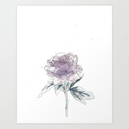 FOR A LIFETIME Art Print