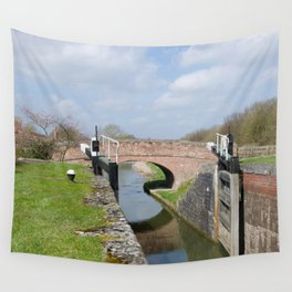 Lock 17 Wall Tapestry