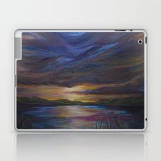 out of darkness comes light Laptop & iPad Skin