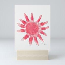Starfish - Red Palette Mini Art Print