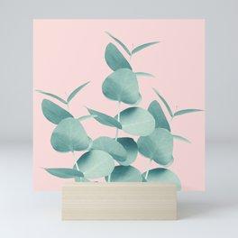Eucalyptus Leaves Green Blush #1 #foliage #decor #art #society6 Mini Art Print
