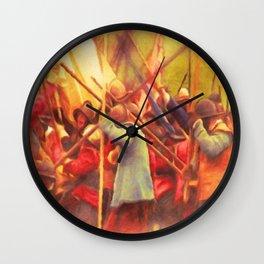 The English Civil War Wall Clock