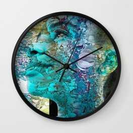 """""""Fall Faces: Camille"""" Wall Clock"""