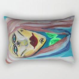 Big Lips Rectangular Pillow
