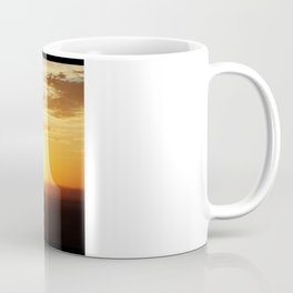Sunrise over Monument Valley West Mitten Butte Coffee Mug