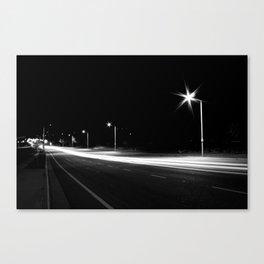 Night Speed Canvas Print