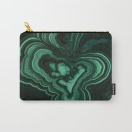Malachite Patterns Carry-All Pouch