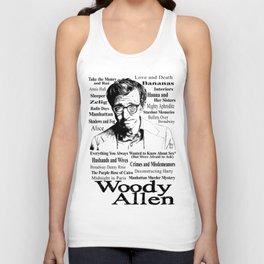 Woody Allen Unisex Tank Top