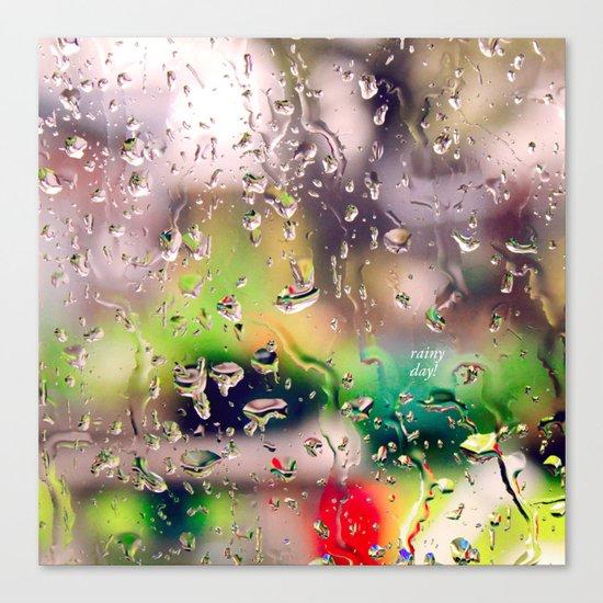 Rainy day! Canvas Print