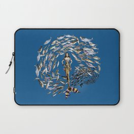 Mermaid in Monaco Laptop Sleeve