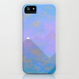 snowy peak iPhone Case