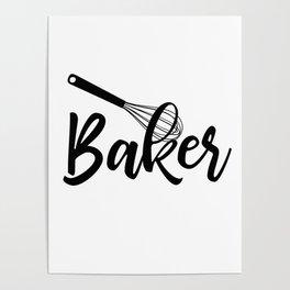 Baker Poster