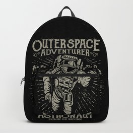 Outer Space Adventurer Astronaut Backpack