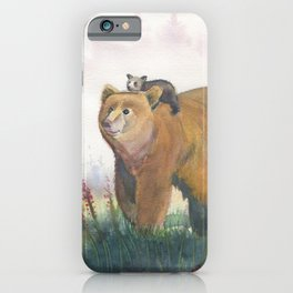 Bear Family iPhone Case