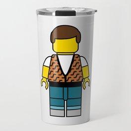 Ferris Bueller Lego Man Travel Mug