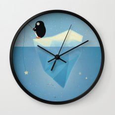 FISHER OF STARS Wall Clock