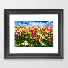 Spring Dreams Framed Art Print