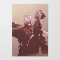 bioshock infinite Canvas Prints featuring The Lighthouse - Bioshock: Infinite by Edward J. Moran II