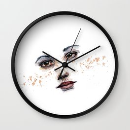 Freckle Wall Clock