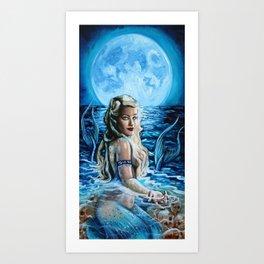 La Sirene Art Print
